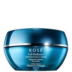 Crema Regeneradora yCrema  Redensificante de Dia KOSÉ Cell Radiance Replenish & Renew Day Cream